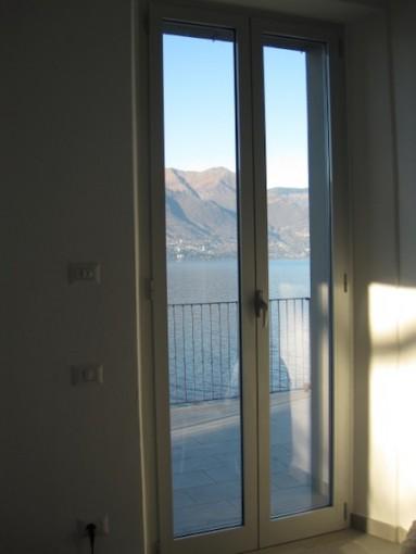 Sicht aus Schlafzimmer Laveno